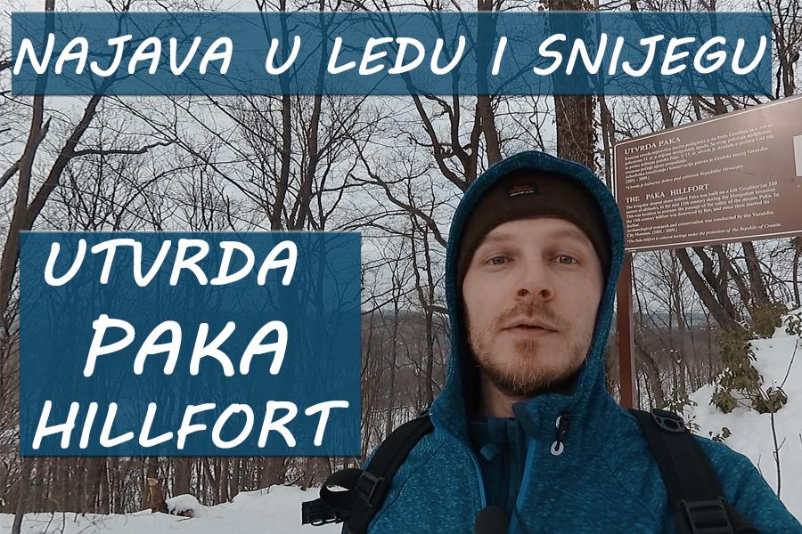 Najava u ledu i snijegu - utvrda Paka