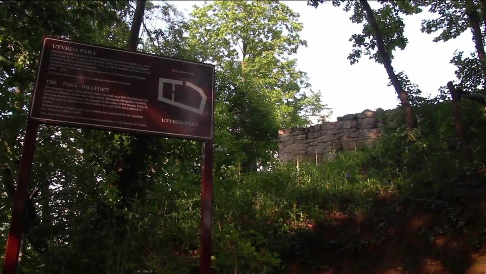 Burg Paka - Utvrda Paka