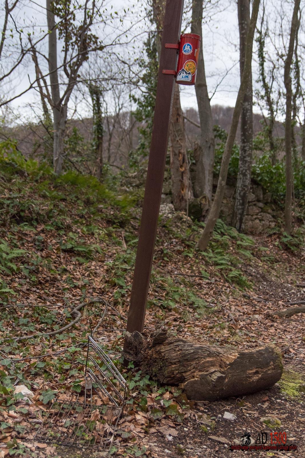 Planinarska kontrolna točka