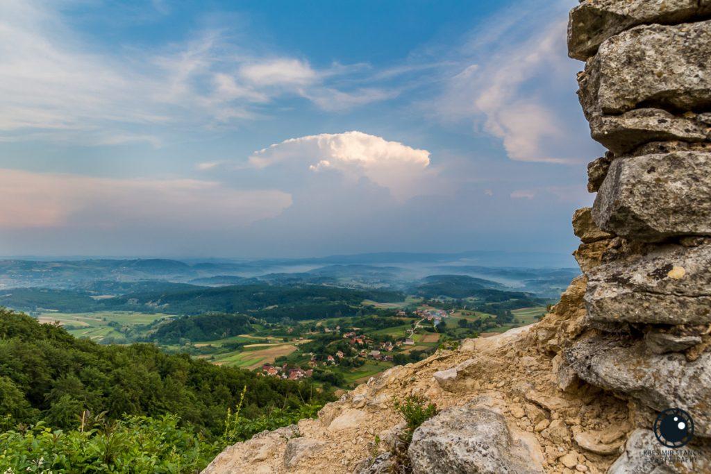 Grtovec i Zagorje u svibanjskoj izmaglici