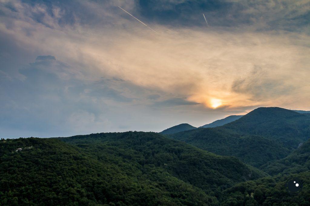 Zalazak sunca nad Ivančicom