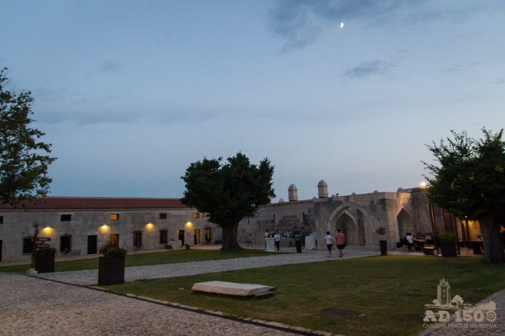 Maškovića han - dvorište